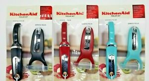 KitchenAid Kitchen Utensil Peeler Set Vegetable Peeler amp; Serrated Peeler NEW