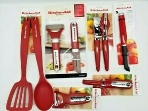 KitchenAid Cooking and Kitchen Utensils Red HERA kitchen utensils NEW