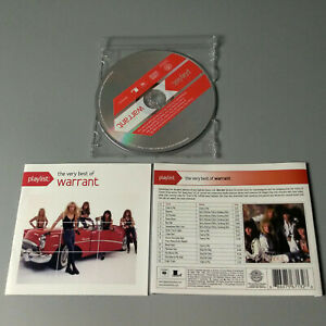 Warrant The Very Best 2013 USA CD Hard Rock VG #1321