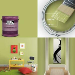 1 Gal. #P360 5 Citrus Peel Eggshell Enamel Interior Paint And Primer In One