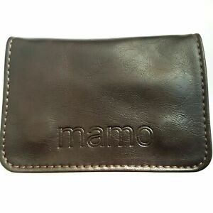 Tobacco Pouch Pu Leather Wallet Purse Holder Case Bag Rolling Cigarettes Brown