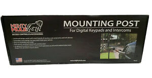 Mounting Post Digital Keypads Intercoms Mighty Mule FM100 Gooseneck Made in USA $65.00