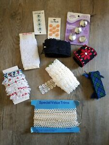 Assorted Sewing Lace And Trim $7.90