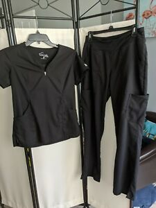 Black Butter Soft Scrubs Set Size Small