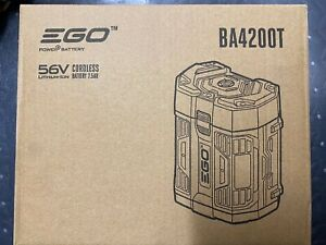 EGO Power BA4200T 56 Volt 7.5Ah Lithium Ion Battery With Upgraded Fuel Gauge
