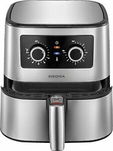 Insignia 5 qt. Analog Air Fryer Stainless Steel $99.99