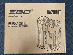 EGO BA2800T 5.0 AH 56 Volt Battery Gen II With Upgraded Fuel Gauge