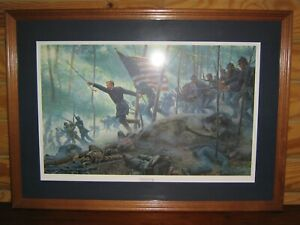 Chamberlain#x27;s Charge by Mort Kuntsler Signed and Numbered limited ed. 734 $875.00
