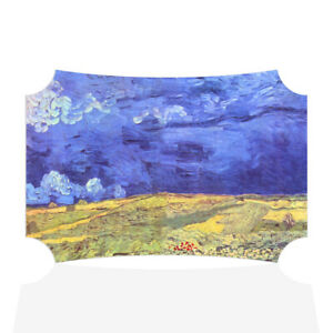 Home Decor Wall Sign Field Under Storm Heaven Painting Art Picture Frame $15.99