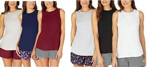 Jane and Bleecker Womens 3 Pack Lounge Tank Top $15.99