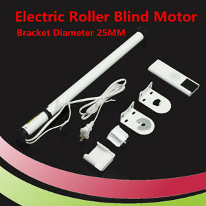 100 240V AC DIY Electric Roller Blind Shade Tubular Motor amp; Remote #2020