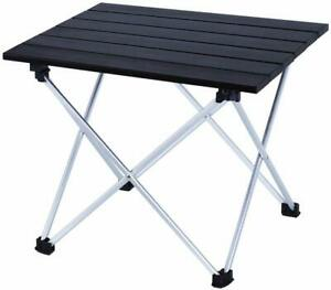 Outdoor Lightweight Folding Camping Table Small Compact Picnic Aluminum Table