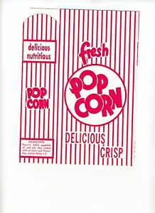 50 NEW Popcorn Box Size 3 E Game or Media Room Man Cave Party Box