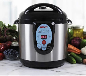 NESCO NCP 9 Smart Pressure Canner and Cooker 9.5 quart Stainless Steel