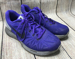 Nike Purple Lunarguide 6 Stable Ride Athletic Running Sneaker Shoes Womens US 9 $27.38
