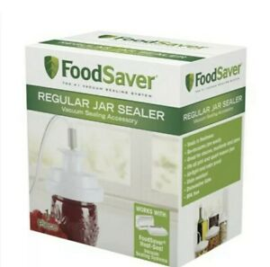 New Never Opened FoodSaver Regular Mouth Mason Jar Sealer Ships Fast Free $39.99