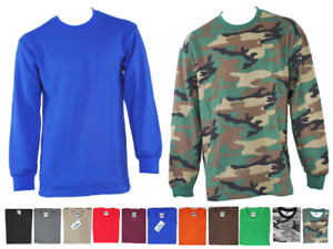 MEN HEAVY WEIGHT THERMAL PLAIN LONG SLEEVE WAFFLE SHIRTS JOHNSON $12.95