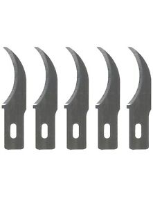 For EXACTO X Acto No.28 Concave Carving Knife Refill Blade 5 Blades Pack $7.95