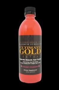 ULTIMATE GOLD DETOX DRINK 16OZ STRAWBERRY Works in One Hour $18.99