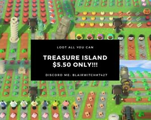ACNH ANIMAL CROSSING: NEW HORIZON TREASURE ISLAND $5.50
