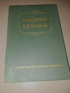 Vintage collectable Singer Machine Sewing book P505 s4a $124.95