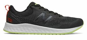 New Balance Men#x27;s Fresh Foam Arishi v3 Shoes Black with Yellow amp; Brown