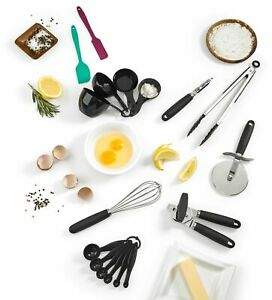 Cuisinart 17pc Cooking and Baking Gadget Set Stainless Steel $49.99
