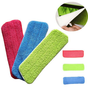 Floor Flat Replacement Pads Dust Mop Microfiber Cleaning Household Water Useful $2.89