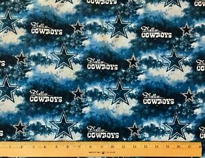 Dallas Cowboys NFL Cotton Football Fabric by the yard