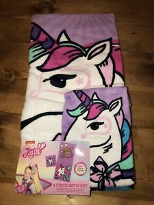JoJo Siwa 2 Piece Bath Towel Set $27.99
