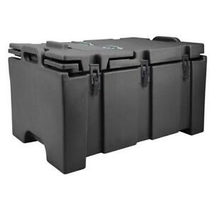 Cambro 100MPC110 Camcarrier Full Size 2 1 2 in Deep Black Pan Carrier $182.95
