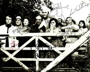 Carry on Camping Cast SIGNED AUTOGRAPHED 10quot; X 8quot; REPRODUCTION PHOTO PRINT