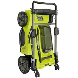 20 in 40 Volt Brushless Cordless Battery Walk Behind Push Lawn Mower just TOOL $139.99