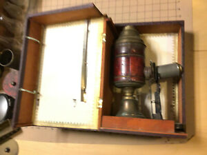 collection: MAGIC LANTERN PROJECTOR #36 in wood box