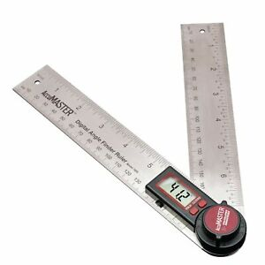 Calculated Industries 7455 AccuMASTER Digital Protractor Angle Finder Ruler f... $32.31