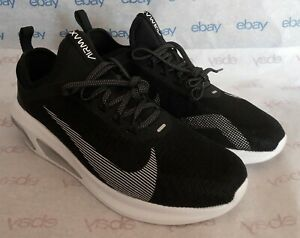 Men#x27;s Nike Air Max Fly . Size 11 . AT2506 002 . Black White Wolf Grey
