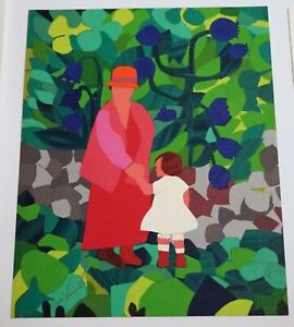 Gloria Vanderbilt Hand Signed Mother and Child plus UN signed Prints Collection $625.00