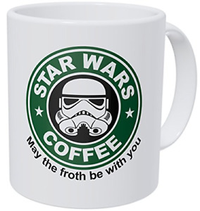 Wampumtuk Starwars May The Froth Be With You 11 Ounces Funny Coffee Mug $16.68