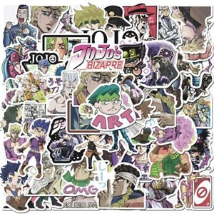 JOJO#x27;s BIZARRE ADVENTURE Stickers TV Anime Vinyl Waterproof Skateboard Decals $7.50