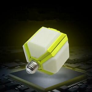 Creative Square E27 Foldable Football Light LED Garage Lamp Deformation Folding $10.08