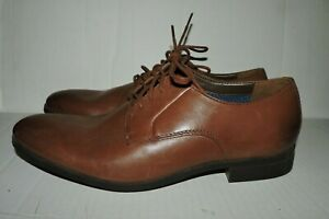Collections by Clarks Oxfords Mens Size 10.5 M Brown $11.89