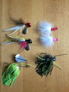 6 old lures jigs