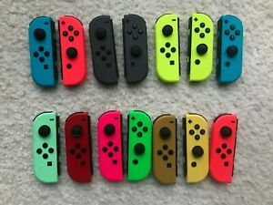 Genuine OEM Nintendo Switch Joy Con Controller Left or Right Various Colors $32.99