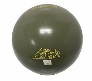 NEW 1980's AMF The Angle Bowling Ball 16 lbs UNDRILLED ULTRA RARE COLOR OLIVE $509.99