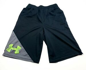 Under Armour Shorts Youth Large Regular Fit Black $14.44