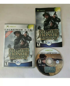 Microsoft Xbox Metal of Honor: FRONTLINE Platinum Hits Complete Tested $3.99