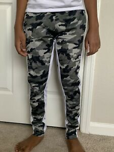 ONE POINT ONE BOYS CAMO SWEATPANTS Size M 10 12 $5.50