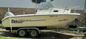 21 Foot Cuddy Cabin Salt Water Fishing Boat With Trailer in Mobile Alabama