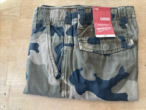 NEW ARIZONA Boys Camo Cargo Pants 14 Regular Camouflage $8.00