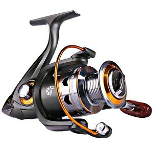 Sougayilang Spinning Fishing Reels with Left Right Interchangeable Collapsibl...
